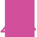 pink warranty graphic